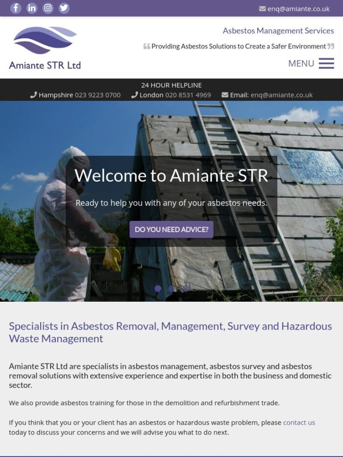 amiante str ltd Tablet
