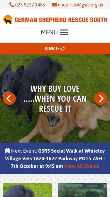 german shepherd rescue south Mobile