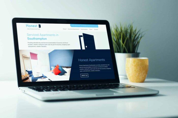 Honest Apartments Laptop