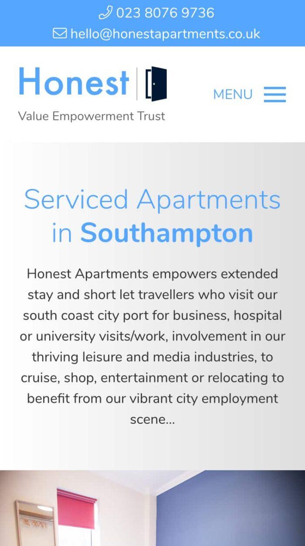 Honest Apartments Mobile