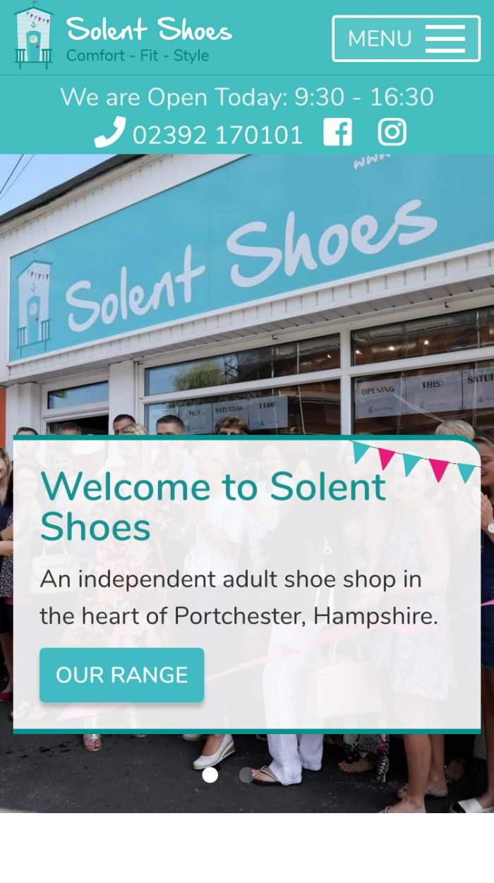 Solent Shoes Mobile