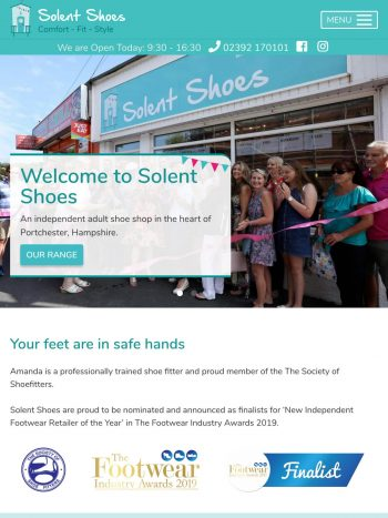 Solent Shoes Tablet