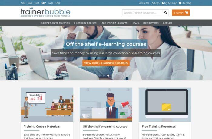 Trainer Bubble Laptop