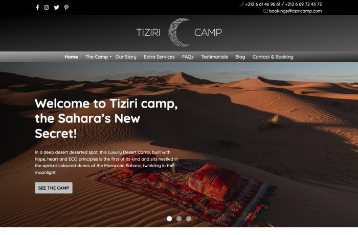 Tiziri Camp Desktop