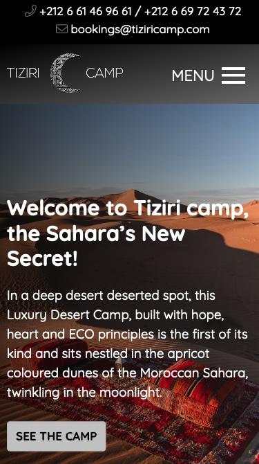 Tiziri Camp Mobile