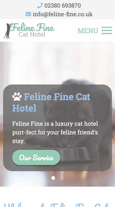 Feline Fine Mobile