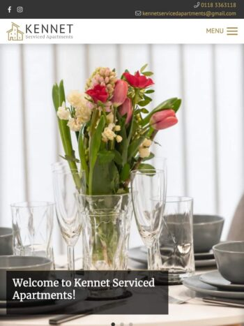 Kennet Serviced Apartments Tablet