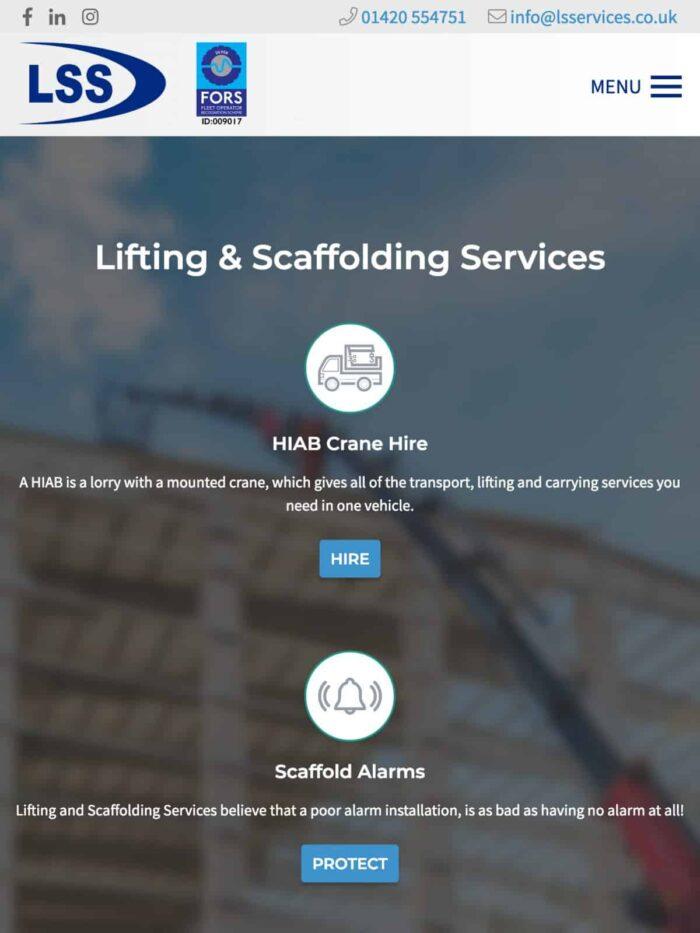 LS Services Tablet