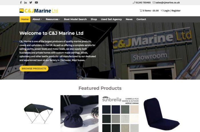 C&J Marine Desktop