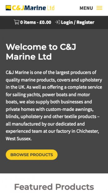 C&J Marine Mobile