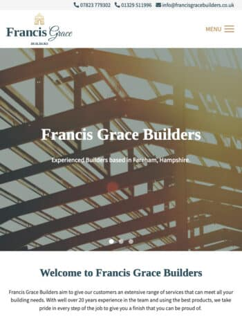 Francis Grace Builders Tablet