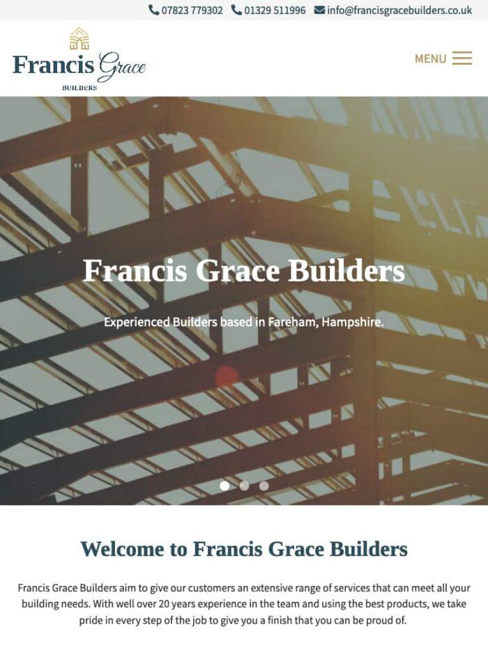 Francis Grace Builders Tablet