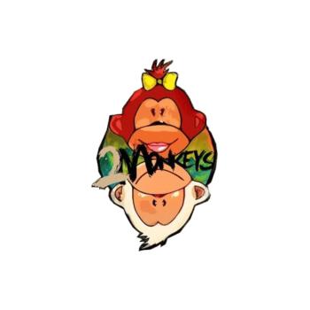 Two Monkeys Travel Logo