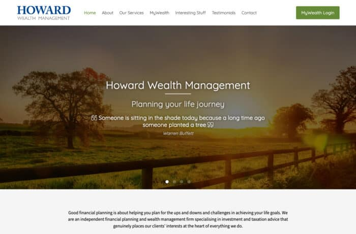 Howard Wealth Management Desktop