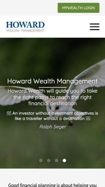 Howard Wealth Management Mobile