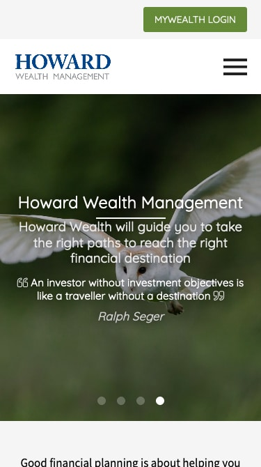 Howard Wealth Management Mobile