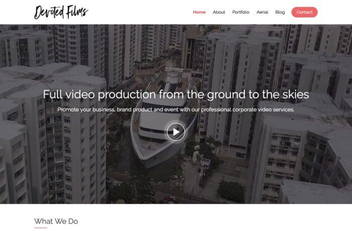 Devoted Films Corporate Desktop