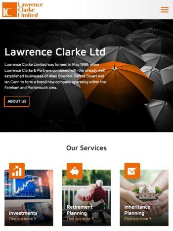 Lawrence Clarke Tablet
