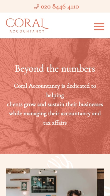Coral Accountancy Mobile