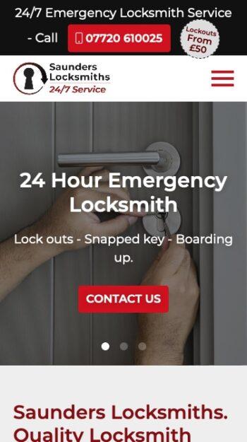 Saunders Locksmiths Mobile