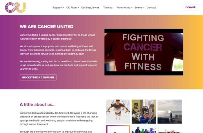 Cancer United Desktop