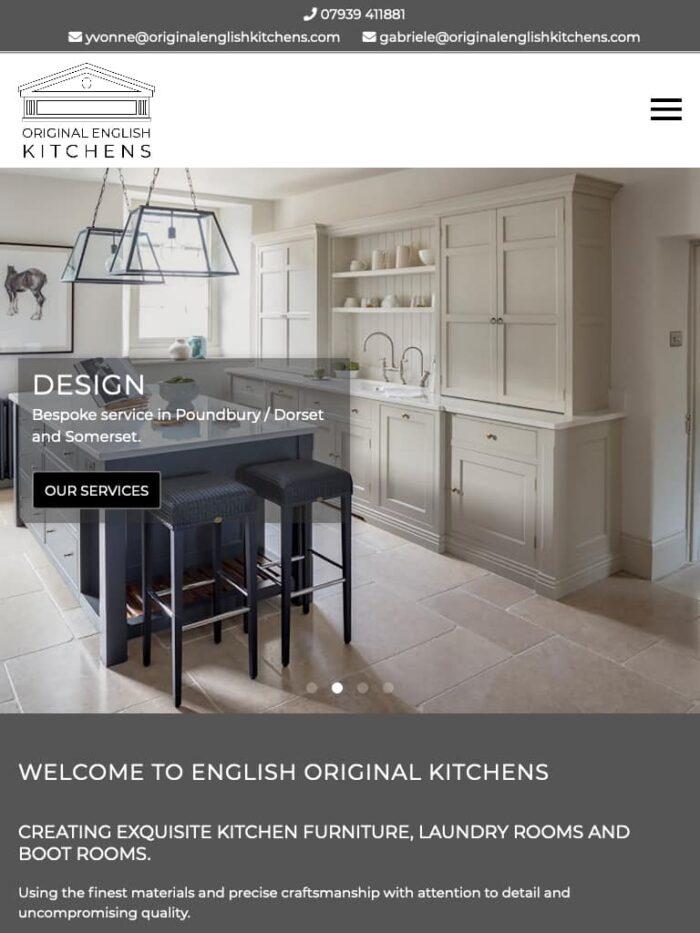 Original English Kitchens Tablet