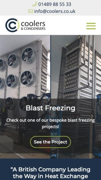Coolers & Condensers Mobile