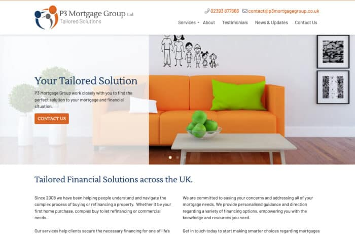 P3 Mortgage Group Desktop