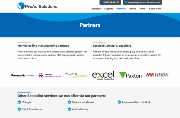 ProAc Solutions Desktop