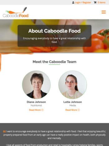 Caboodle Food Tablet