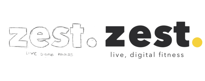 Zest Logo Development Sketch