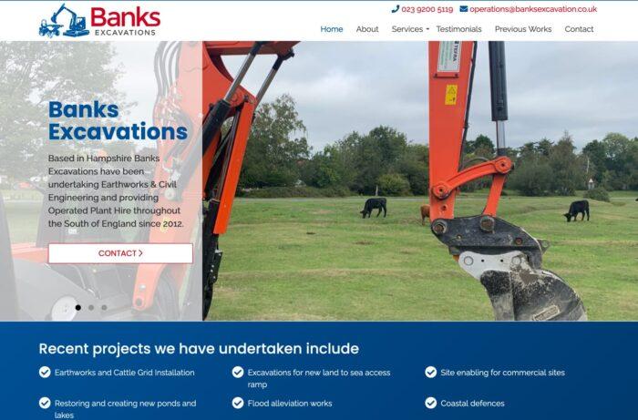 Banks Excavations Desktop