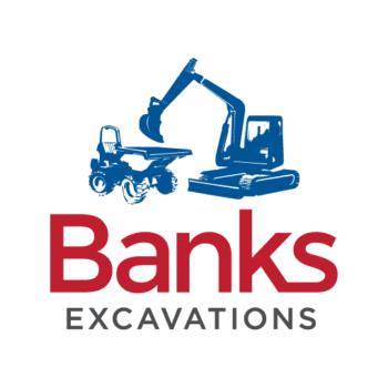 Banks Excavations Logo