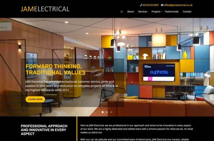JAM Electrical Desktop