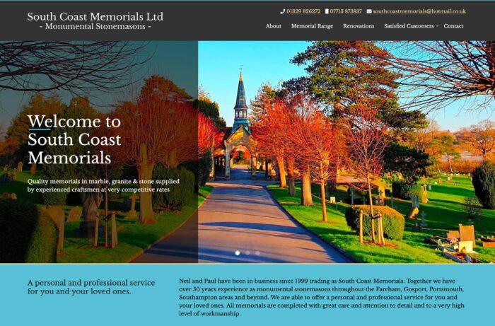 South Coast Memorials Desktop