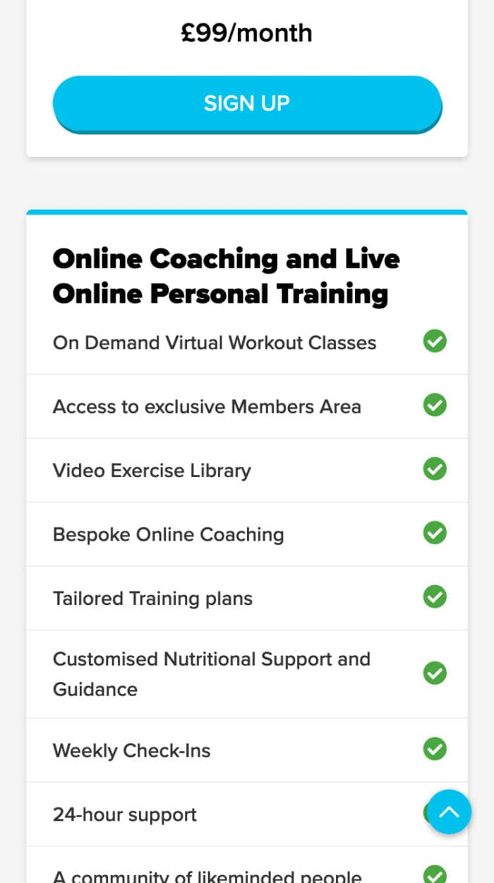 My Online Fitness Mobile
