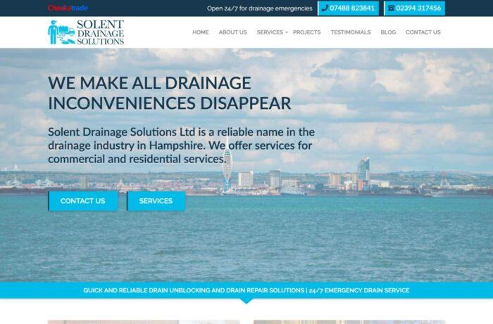 Solent Drainage Solutions Desktop