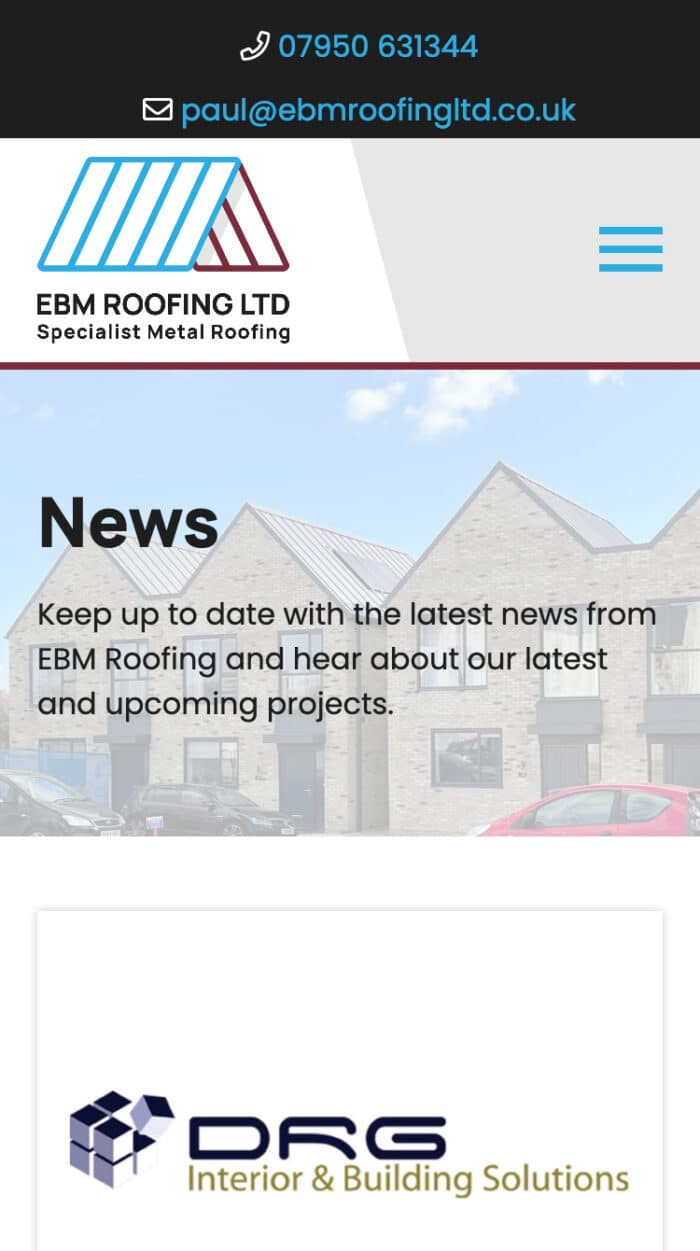 EBM Roofing Mobile