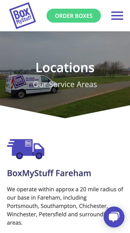 BoxMyStuff Mobile