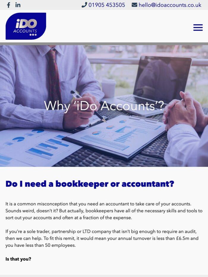 I Do Accounts Tablet